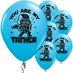 "Ballons Latex Star Wars ""You Are My Father"" - 28 cm"