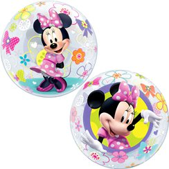 Ballon Bulle La Boutique de Minnie - 56 cm