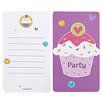 Cartes d'Invitation Cupcakes
