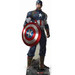 Captain America en Carton - 190 cm