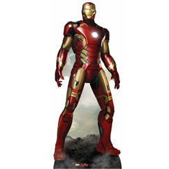 Iron Man en Carton - 193 cm