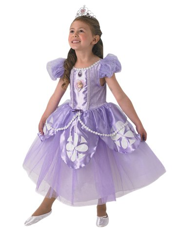 Sofia de Disney Version Premium - Déguisement Enfant   Party City d3268209b5be