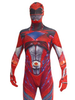 Morphsuit Power Rangers Rouge