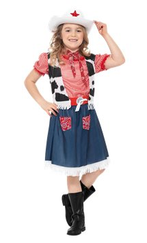 Cow Girl Costume Enfant Party City