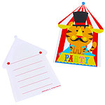 Set Invitations et Enveloppes Cirque Fisher-Price