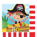 Serviettes Petit Pirate - Double Epaisseur