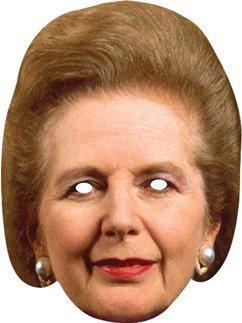 Masque Margaret Thatcher
