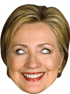 Masque Hilary Clinton