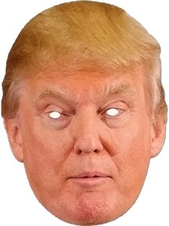 Masque de Donald Trump