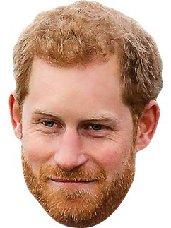 Prince Harry - Masque Adulte