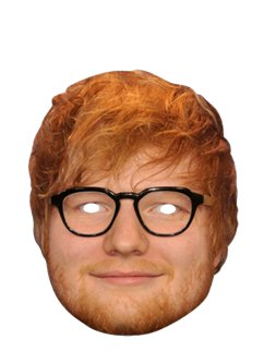 Masque Ed Sheeran