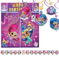 decoration anniversaire shimmer and shine