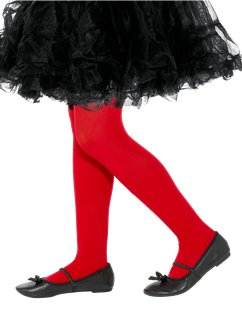 Collants Rouges Enfant - 4/6 Ans