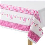 Nappe Plastique Baby Shower Fille