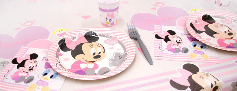 kit anniversaire bebe minnie