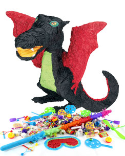 Kit Piñata Dragon Noir