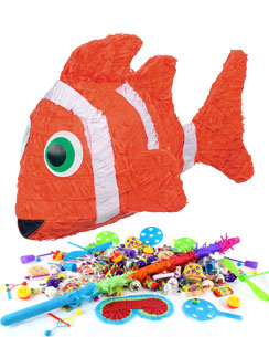 Kit Piñata Poisson Clown - ÉCONOMISEZ PLUS DE 10 %