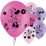 Ballons Minnie Mouse - Latex, 28 cm