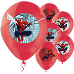 Ballons Spider-Man - Latex, 28 cm