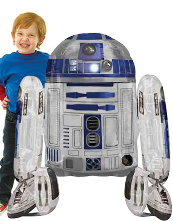Ballon Géant R2-D2 Star Wars - 96 cm
