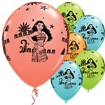 Ballons Disney Vaiana - 28 cm, Latex