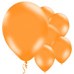 Ballons Orange - 28 cm, Latex