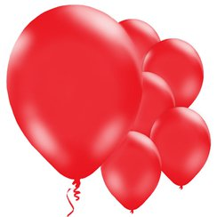 Ballons Rouges - 28 cm, Latex