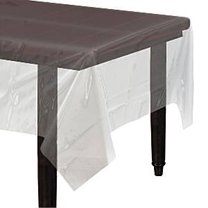 nappe en plastique transparente 1 4 m x 2 8 m. Black Bedroom Furniture Sets. Home Design Ideas