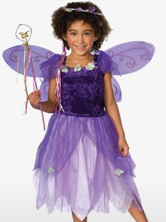 Fée Pixie Violette - Costume Enfant Fancy Dress