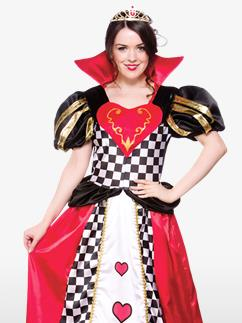 La Reine de Cœur -  Déguisement Adulte Fancy Dress