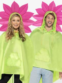 Poncho Fleur Unisexe - Adulte Fancy Dress