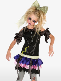 Poupée Zombie - Déguisement Enfant Fancy Dress