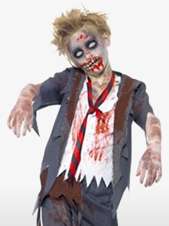 Écolier Zombie - Déguisement Enfant Fancy Dress