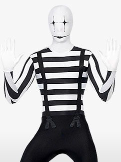 Mime Combinaison Seconde Peau