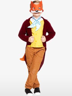 Fantastic Mr Fox de Roald Dahl - Déguisement Enfant Fancy Dress