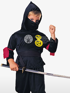 Ninja - Costume enfant Fancy Dress