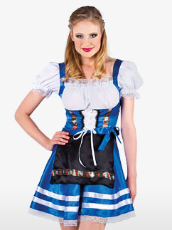 Femme d'Oktoberfest - Déguisement Adulte Fancy Dress