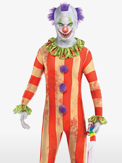 Combinaison de Clown -  Déguisement Adulte Fancy Dress