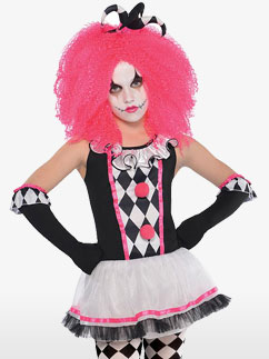 Jolie Clown du Cirque - Déguisement Enfant Fancy Dress