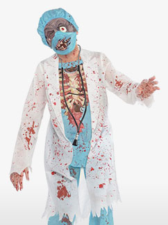 Chirurgien Zombie - Déguisement Enfant Fancy Dress