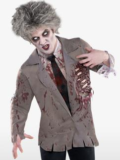 Chemise de Zombie - Déguisement Adulte Fancy Dress