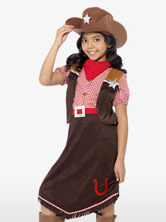 Costume Cowgirl Prestige - Enfant Fancy Dress