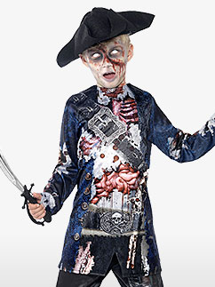 Pirate Zombie - Déguisement Enfant Fancy Dress