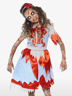 Paysanne Zombie - Déguisement Enfant Fancy Dress
