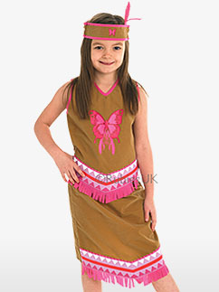 Squaw - Costume enfant Fancy Dress