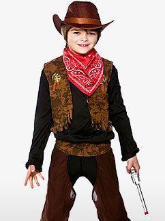 Cow-Boy du Far West - Déguisement Enfant  Fancy Dress