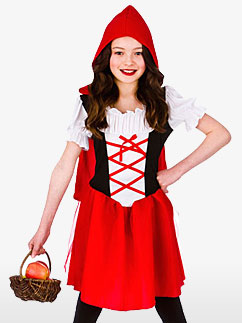 Le Petit Chaperon Rouge - Déguisement Enfant  Fancy Dress