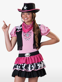 Cow-Girl - Déguisement Enfant  Fancy Dress