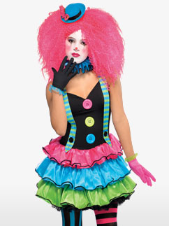 Clown Cool - Déguisement Enfant et Ado  Fancy Dress