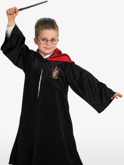Robe de Sorcier Harry Potter Prestige - Déguisement Enfant Fancy Dress